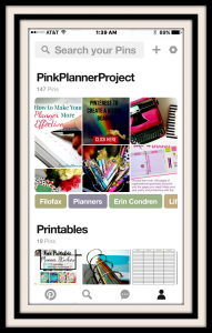 Pink Planner Project