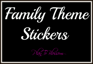 Family Themed Stickers